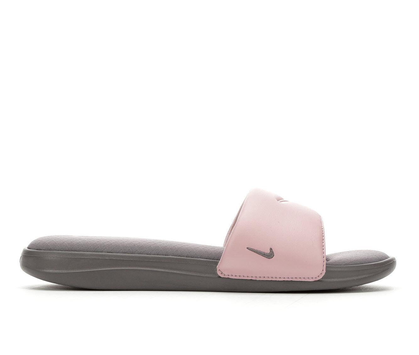 Women's Nike Ultra Comfort Slde 3 Sport Sandals Gunsmoke/Plum