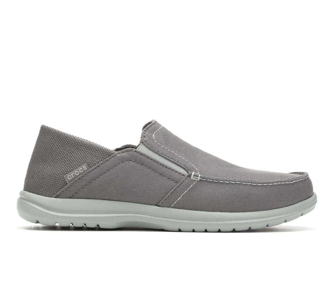 Men's Crocs Santa Cruz Convertible Slip On Loafer Lt Grey/Slate
