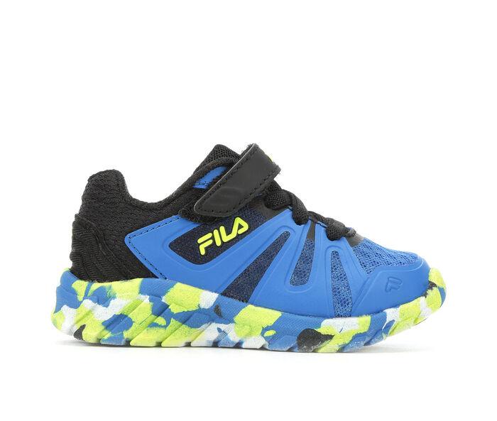 Kids' Fila Infant & Toddler Cryptonic 6 Strap Running Shoes
