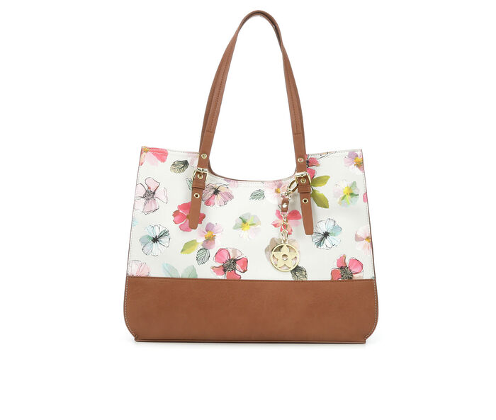 Bueno Of California Printed Tote Handbag