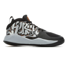 Boys' Nike Big Kid Team Hustle D9 Graffiti Basketball Shoes