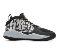 Boys' Nike Big Kid Team Hustle D9 Graffiti Basketball Shoes