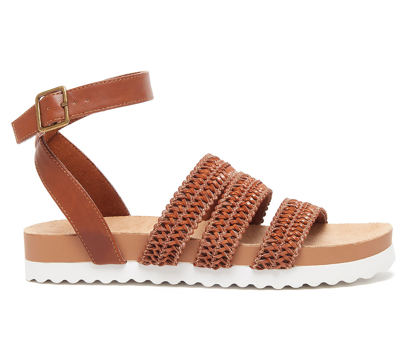 Women's Rocket Dog Leysa Flatform Sandals Brown