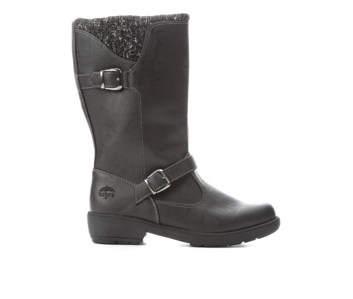 Women's Totes Gannet Sweater Cuff Mid Boots