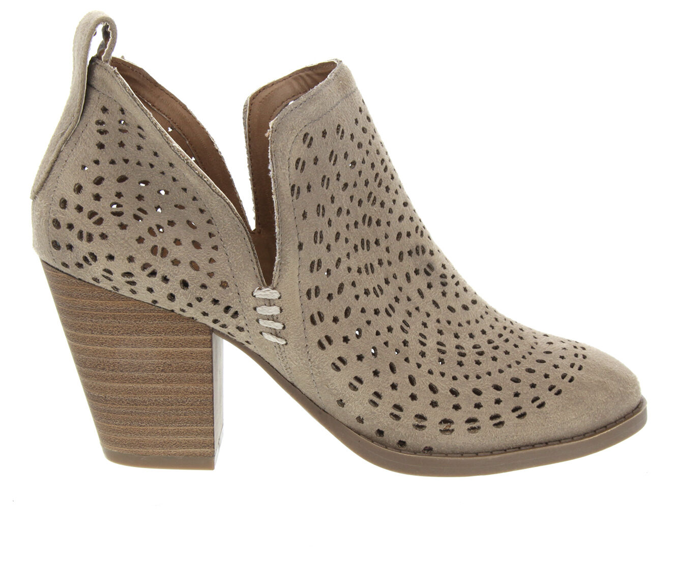 Women's Sugar Racer Booties Taupe