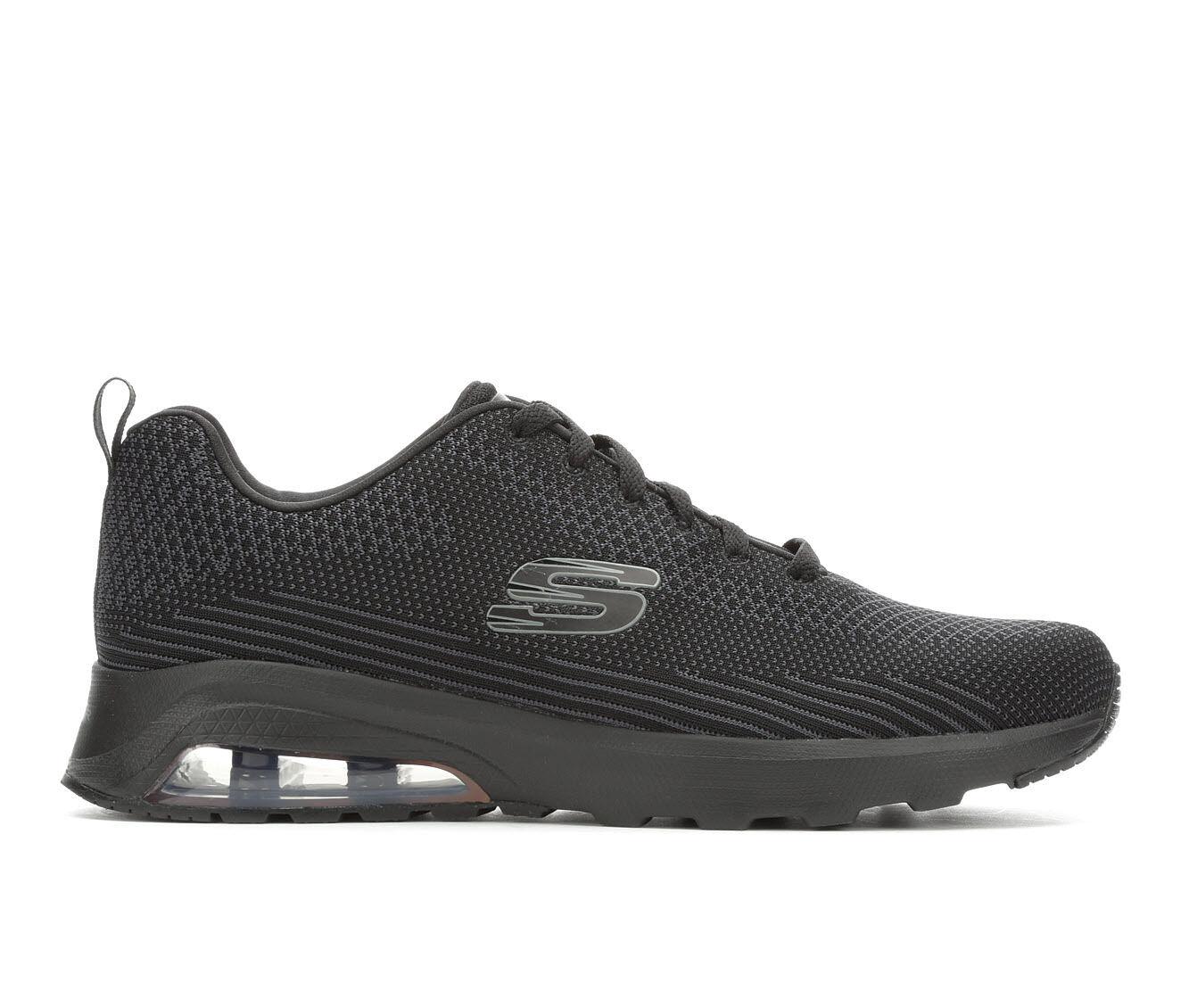 Men's Skechers Skech AIr 51490 Running Shoes Blk/Blk BBK