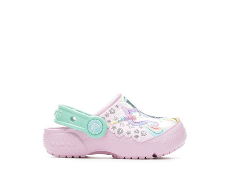Girls' Crocs Inf Funlab Unicorn 5-10 Clogs