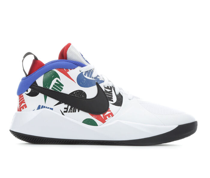 Boys' Nike Big Kid Team Hustle D9 JDI Basketball Shoes