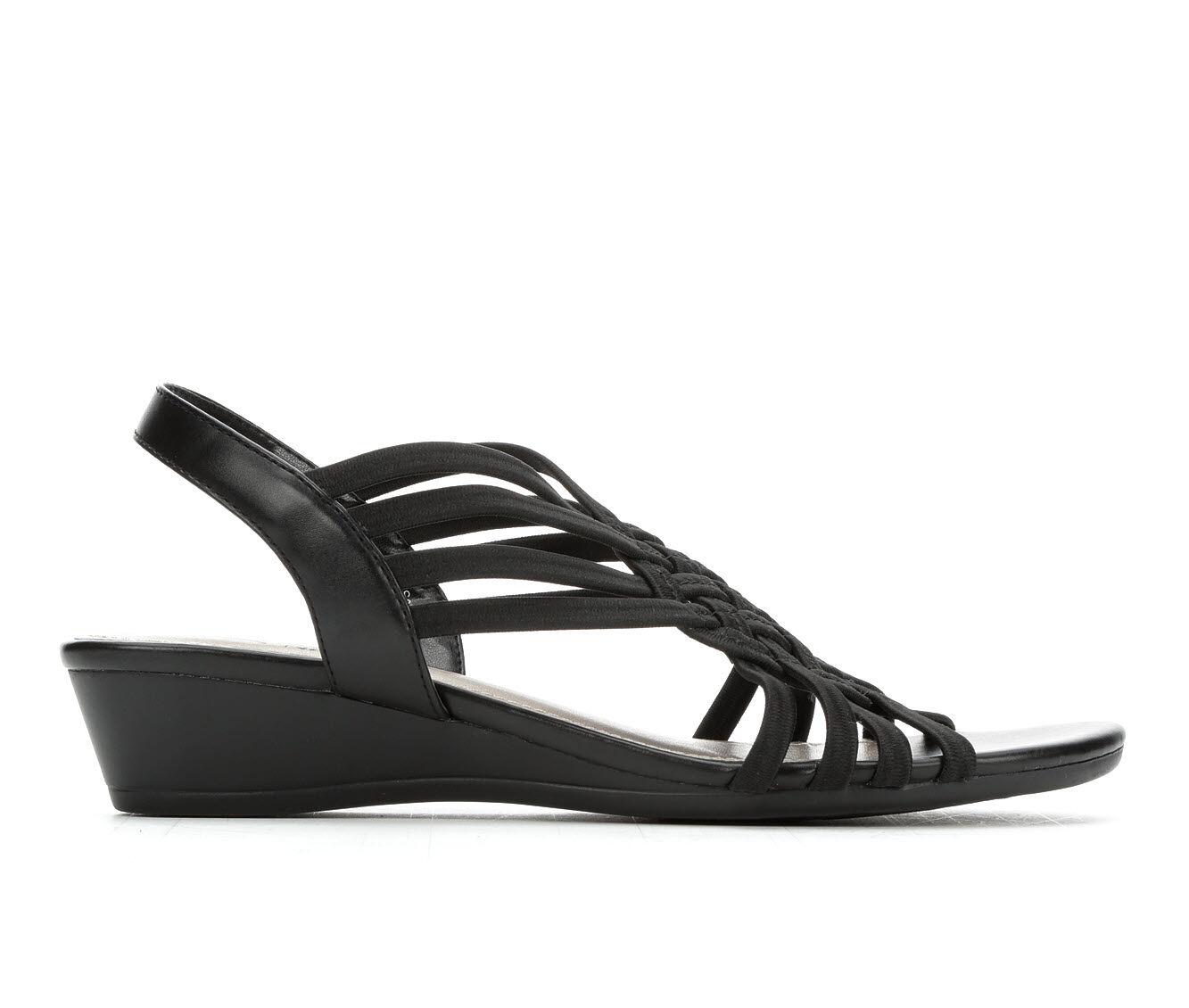 Fashionable Style Women's Impo Rosia Strappy Sandals Black