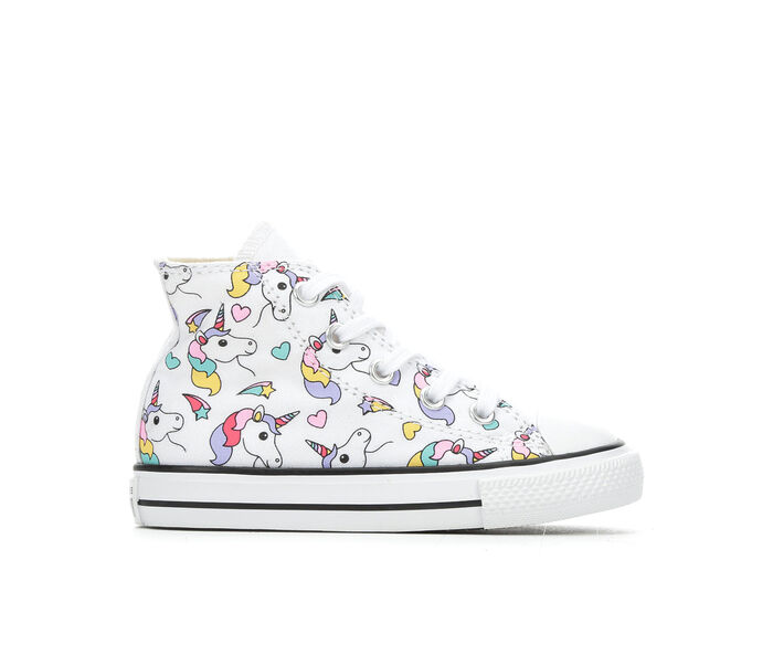 Girls' Converse Infant CTAS Rainbow Unicorn Sneakers