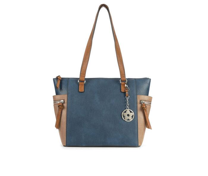 Bueno Of California Tri Tone Tote Handbag