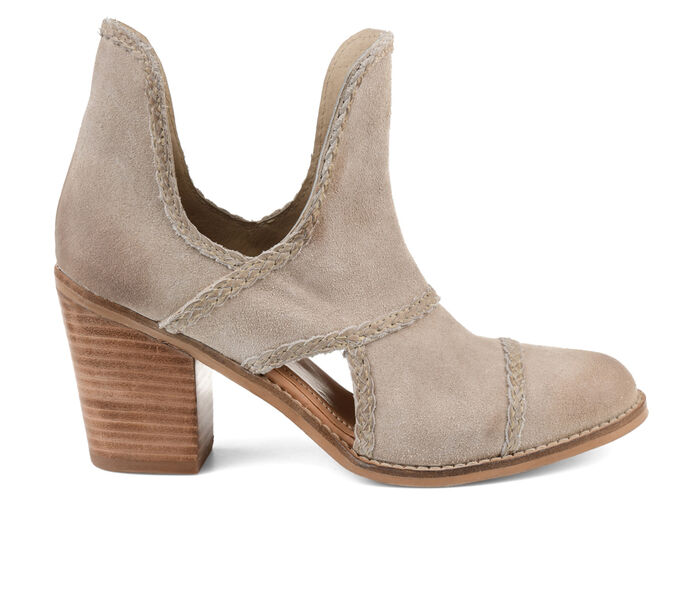 Women's Journee Signature Courtny Side Slit Booties