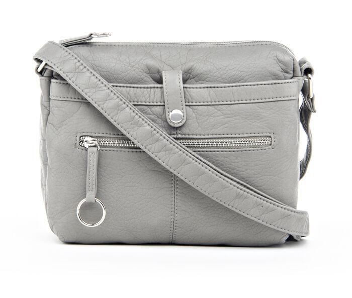 Bueno Of California Grained Washed Crossbody Handbag