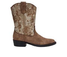 Boys' Deer Stags Little Kid & Big Kid Ranch Western Boots