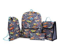 Stella and Max 5 Pc. Backpack & Lunch Box Set