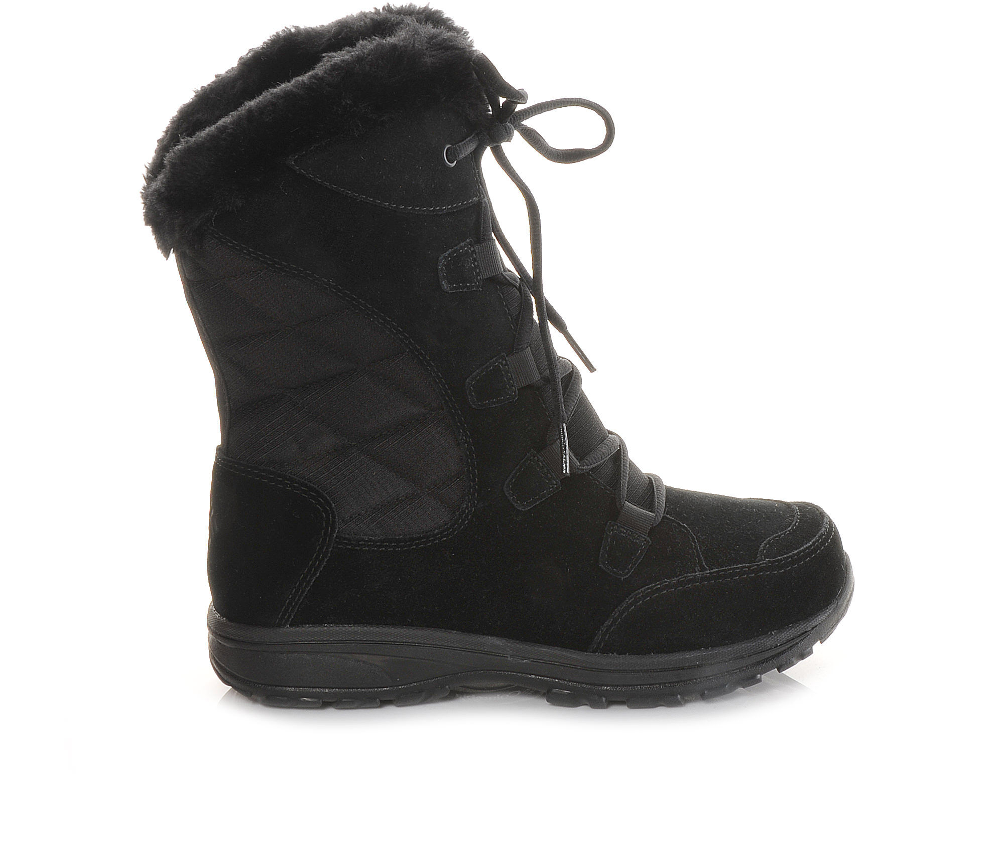 great savings Women's Columbia Ice Maiden Winter Boots Black/Grey