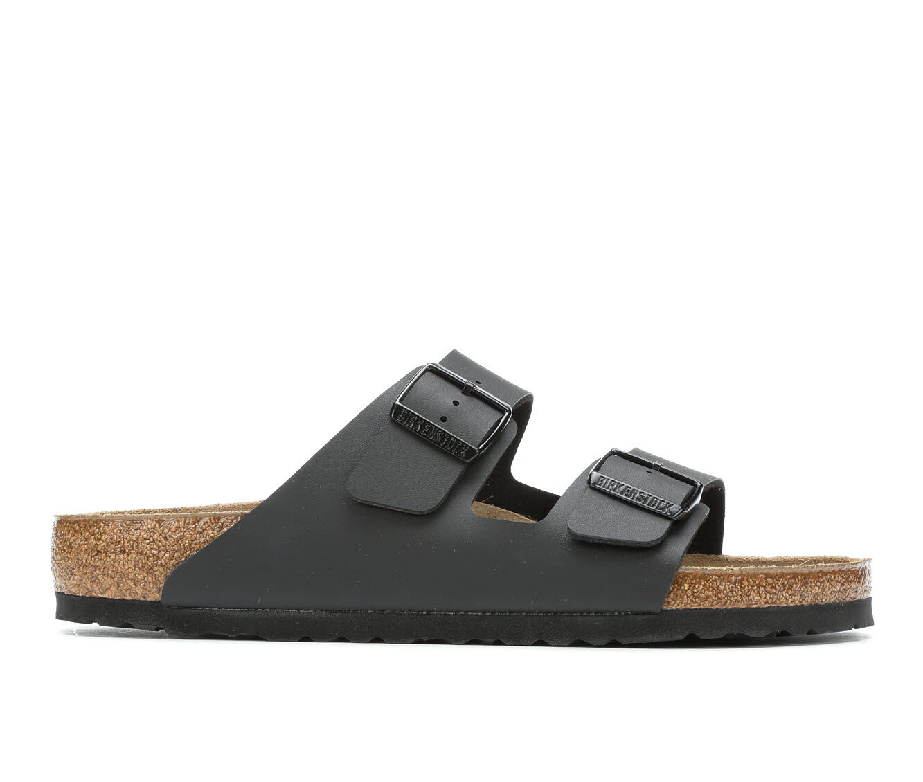 purchase cheap top quality Men's Birkenstock Arizona 2 Buckle Outdoor Sandals Black