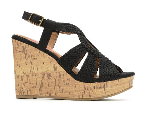 Women's Jellypop Fraisia Faux Cork Wedge Heels