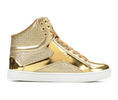 Women's Pastry Pop Tart Glitter High Top Sneakers