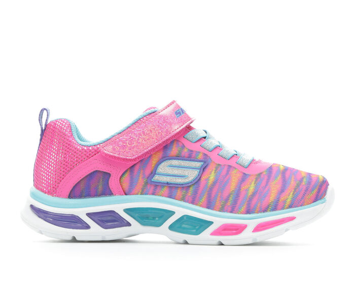Girls' Skechers Litebeams - Colorburst 10.5-3 Light-Up Shoes