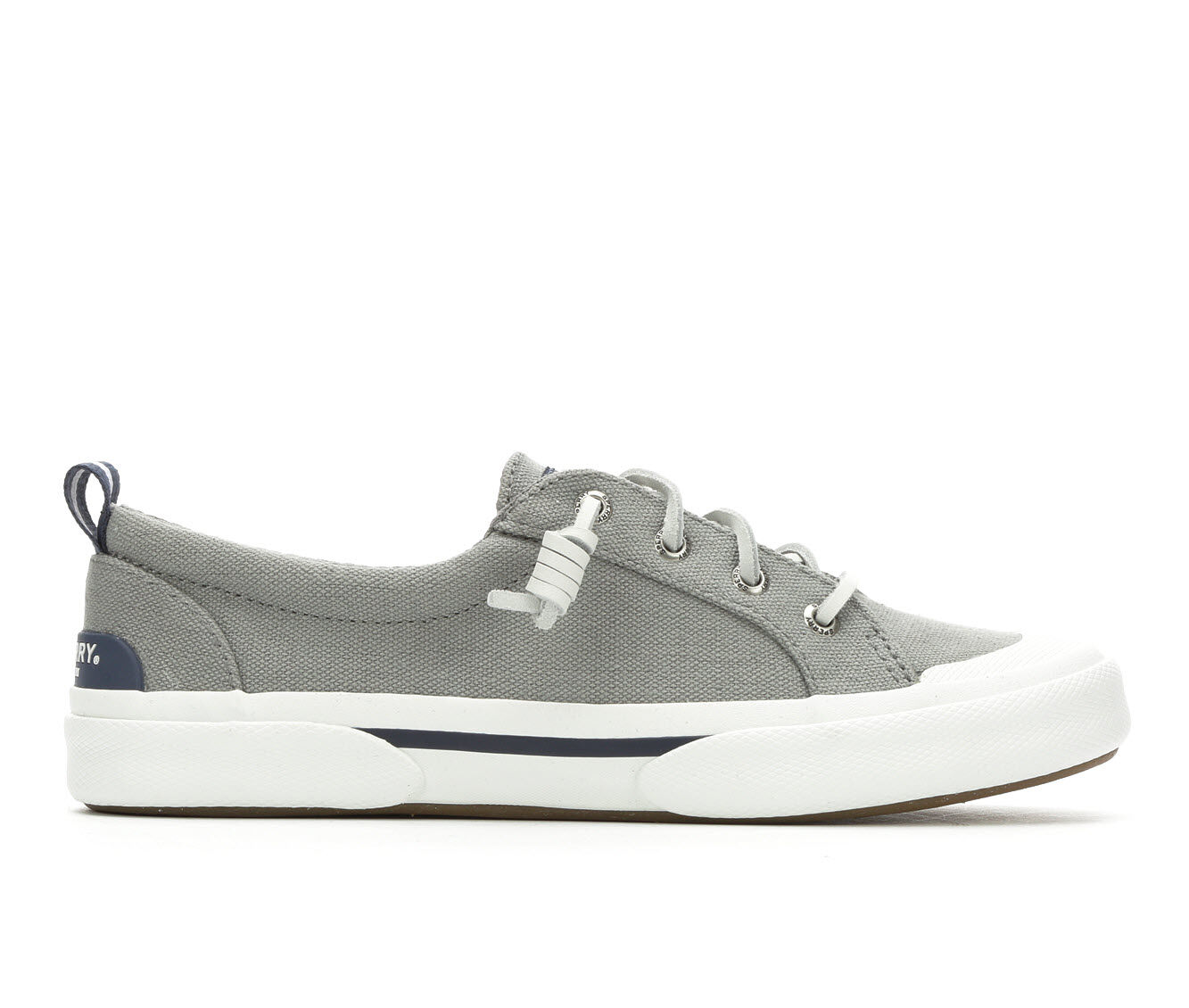 Popular And Cheap Women's Sperry Wave Lace to Toe Sneakers Grey