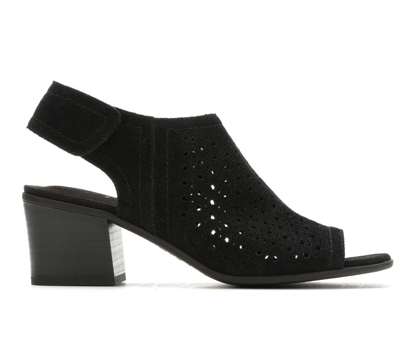Women's Vintage 7 Eight Lenora Heeled Sandals Black