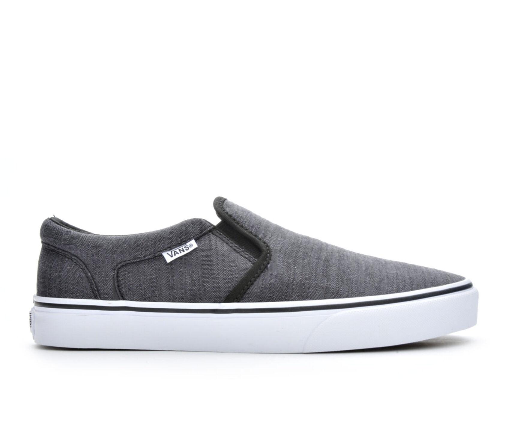 bcc717f14bb27c Men s Vans Asher Premium Slip-On Skate Shoes