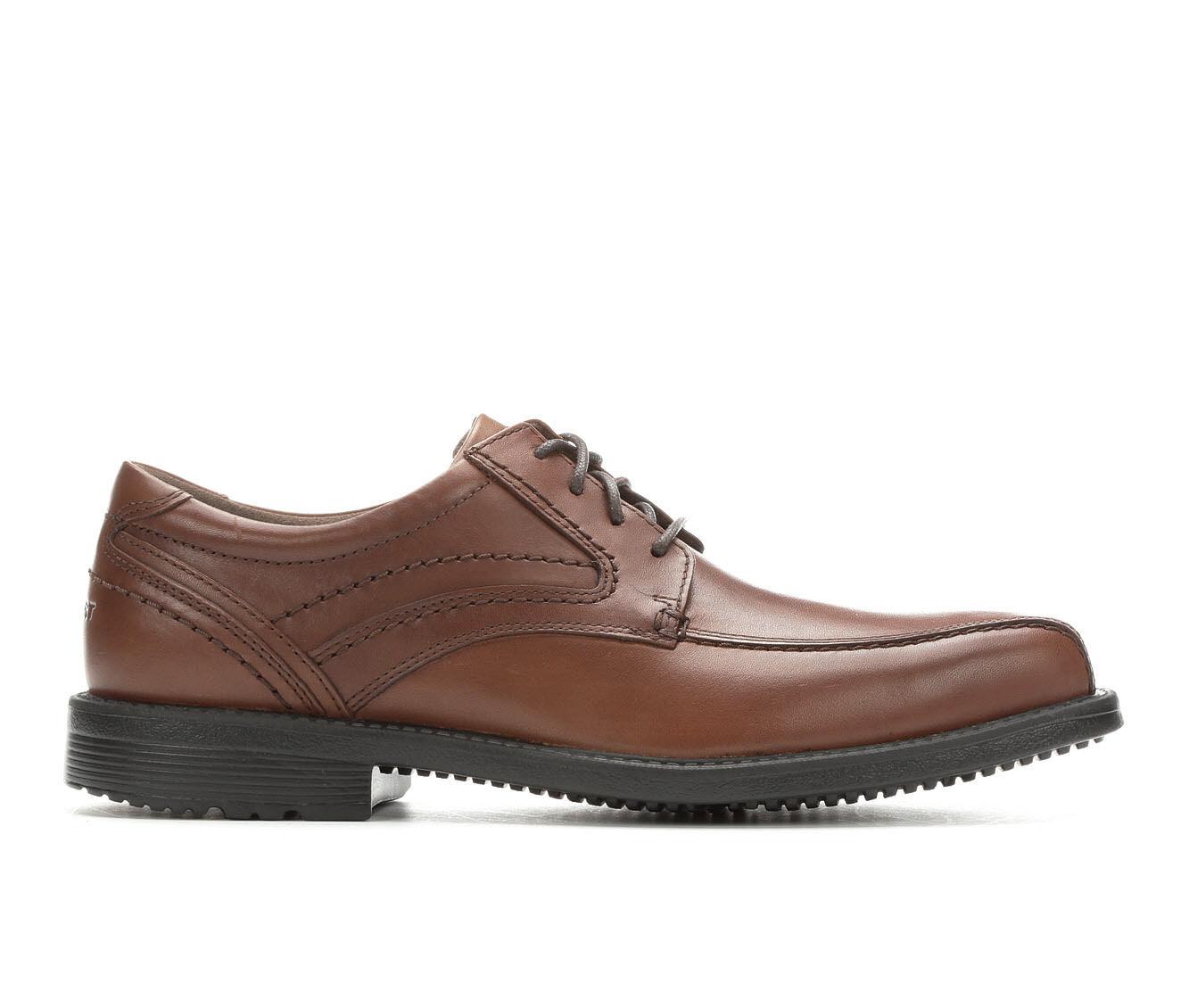 Men's Rockport Style Leader 2 Dress Shoes Cognac