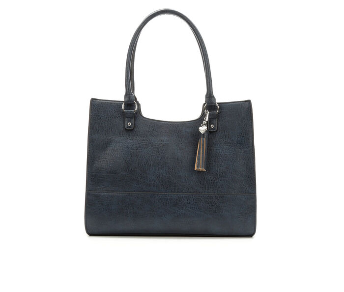 Bueno Of California Tassel Tote Handbag