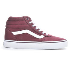 10b99e6efc ... Skate Shoes - Cabernet Red. Women  39 s Vans Ward Hi High Top Sneakers
