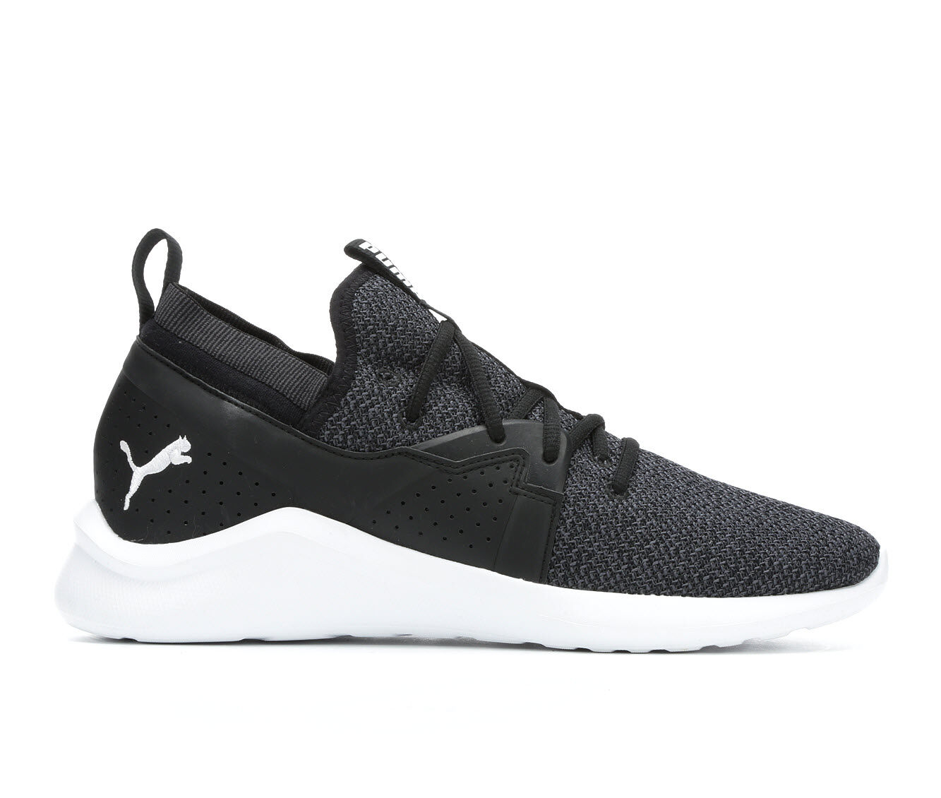 Men's Puma Emergence Sneakers Blk/Wht