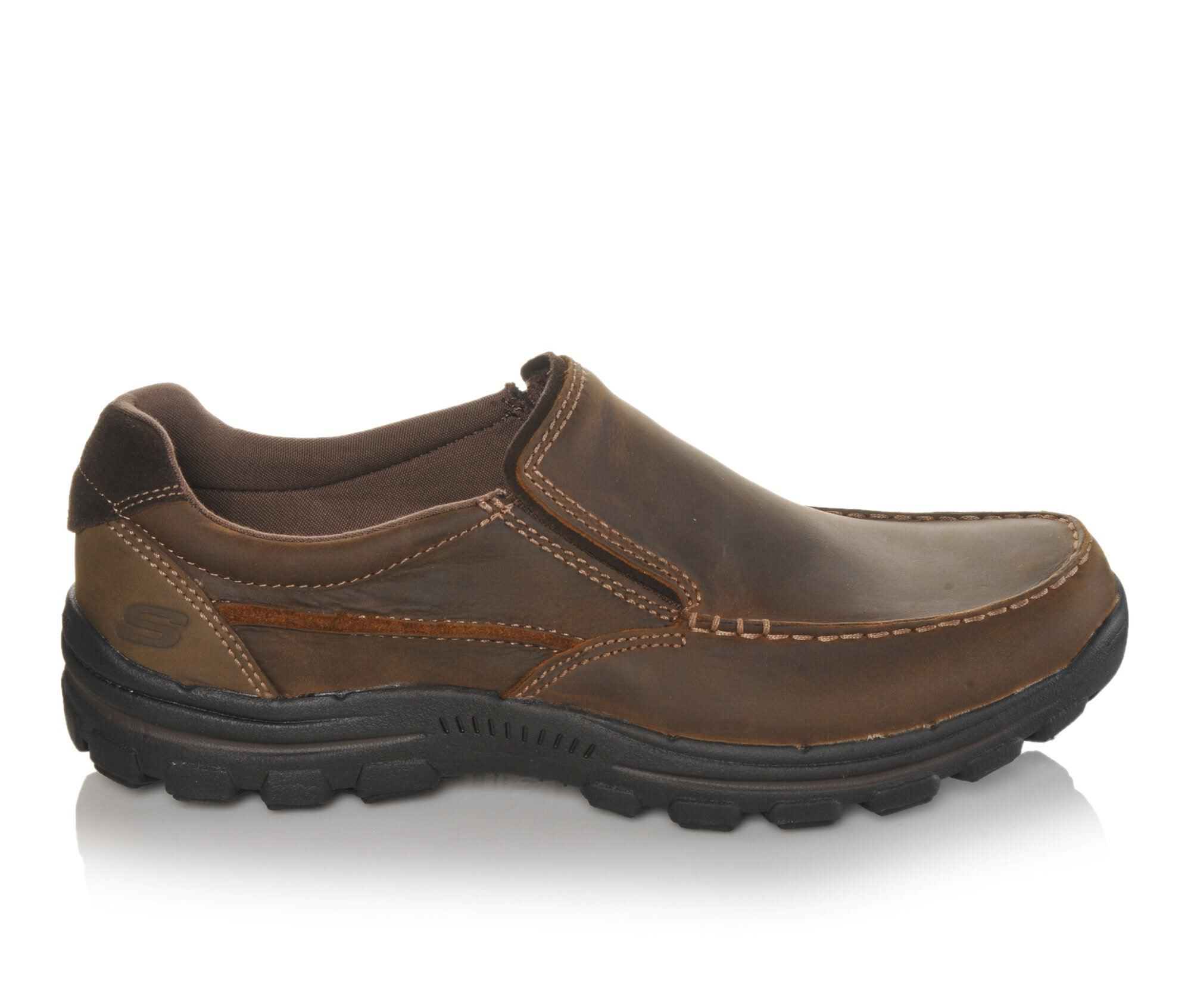 buy authentic new Men's Skechers Rayland 64502 Slip-On Shoes Crazy Horse