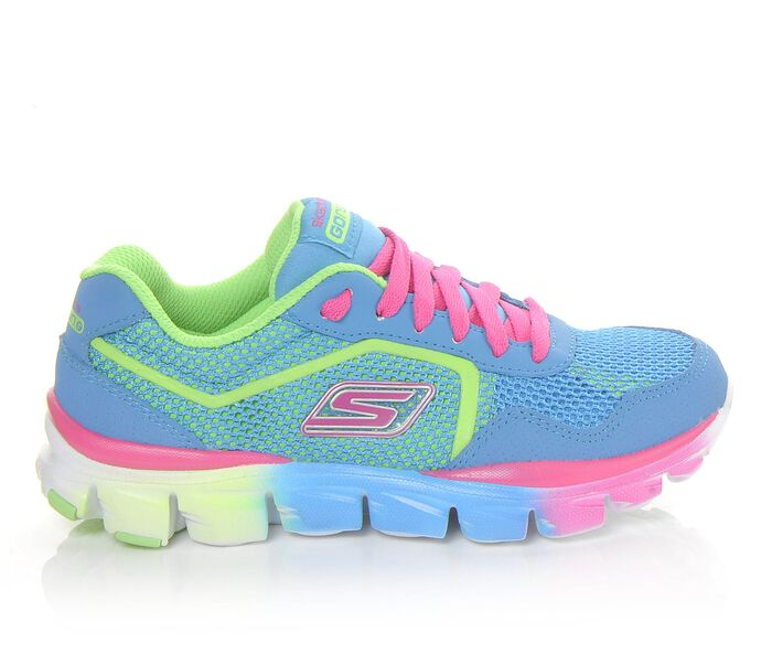Girls' Skechers Go GO Run Ride 80685L Running Shoes