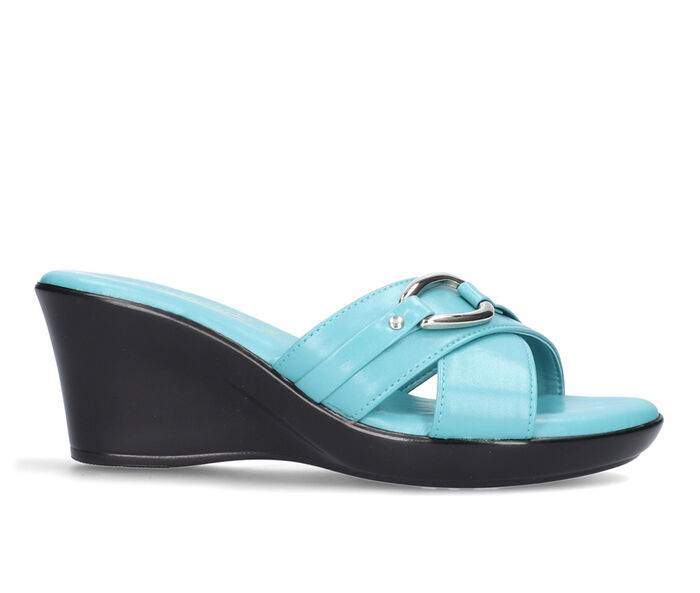 Women's TUSCANY BY EASY STREET Drusilla Wedge Sandals