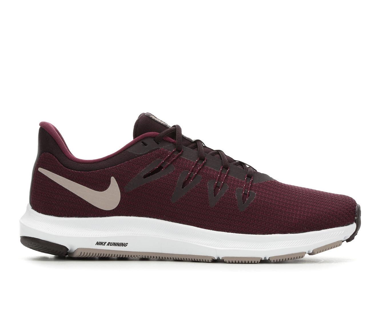 Women's Nike Quest Running Shoes Burg Ash/Volt