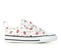 Girls' Converse Infant & Toddler Ladybug 2V Ox CTAS Sneakers