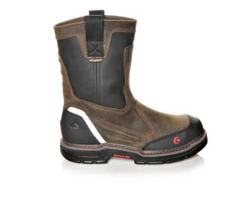 Men's Wolverine Overman Wellington Composite Toe Work Boots