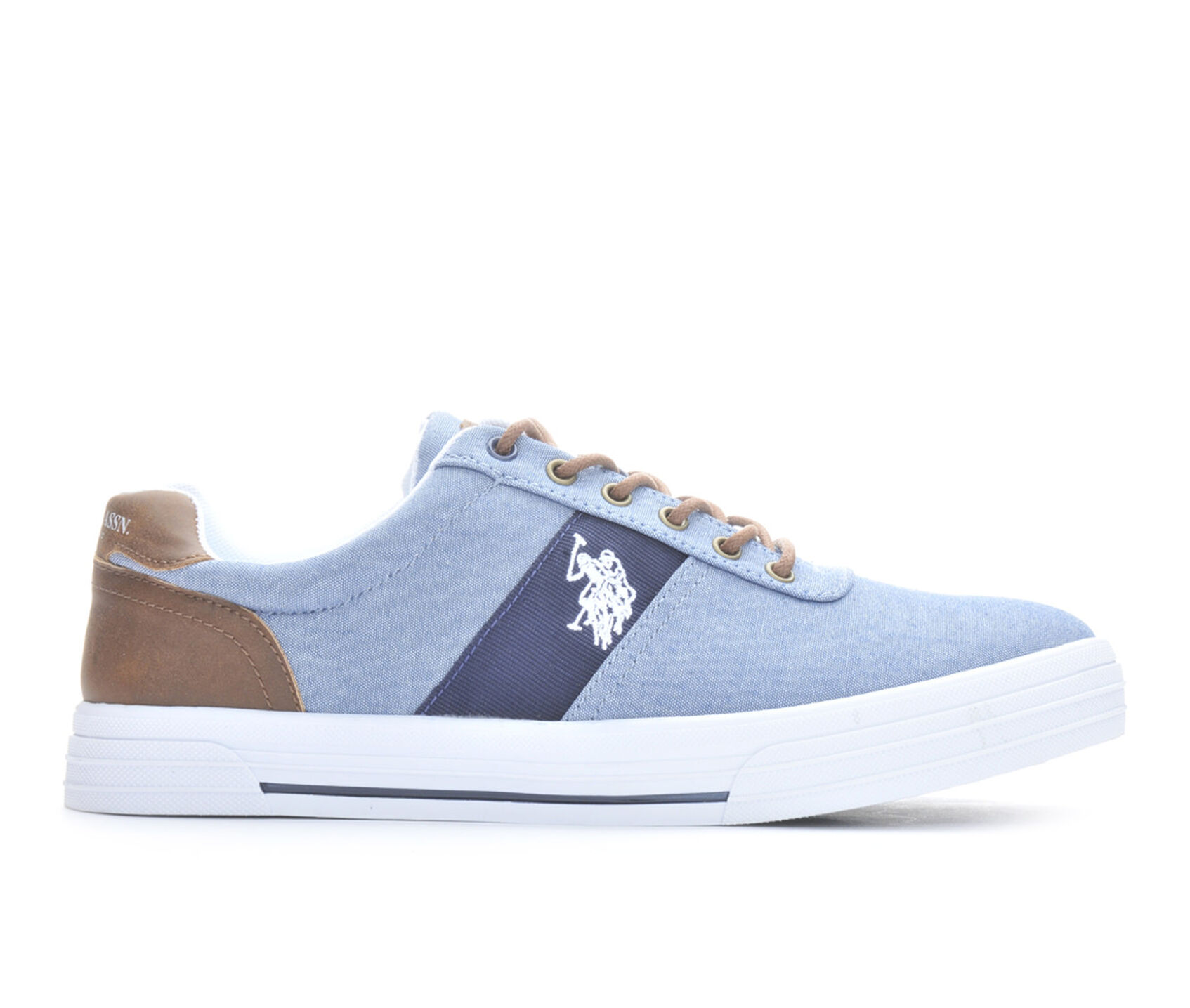 men 39 s us polo assn helm in chambray casual shoes. Black Bedroom Furniture Sets. Home Design Ideas