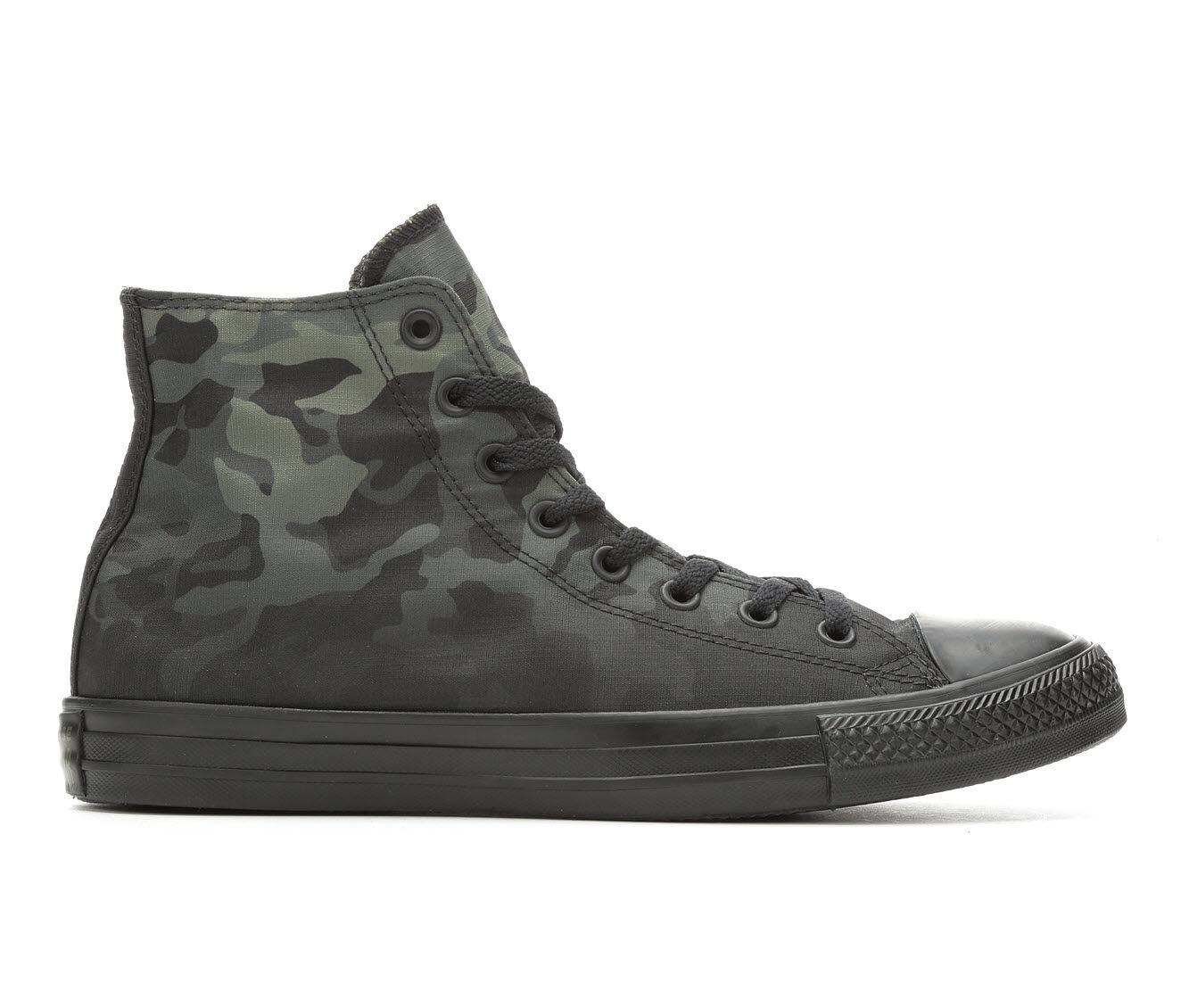 Superior Quality Men's Converse CTAS Gradient Camo High-Top Sneakers Blk/Camo