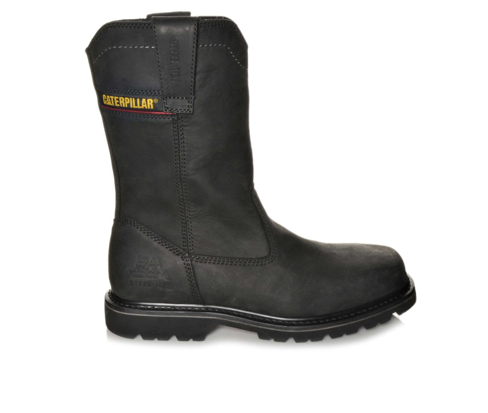 wellston guys Cat wellston empowering workers to shape the world around them, the welston is a square toe version of the classic wellington style with pull tabs for easy pull on and signature caterpillar logo.