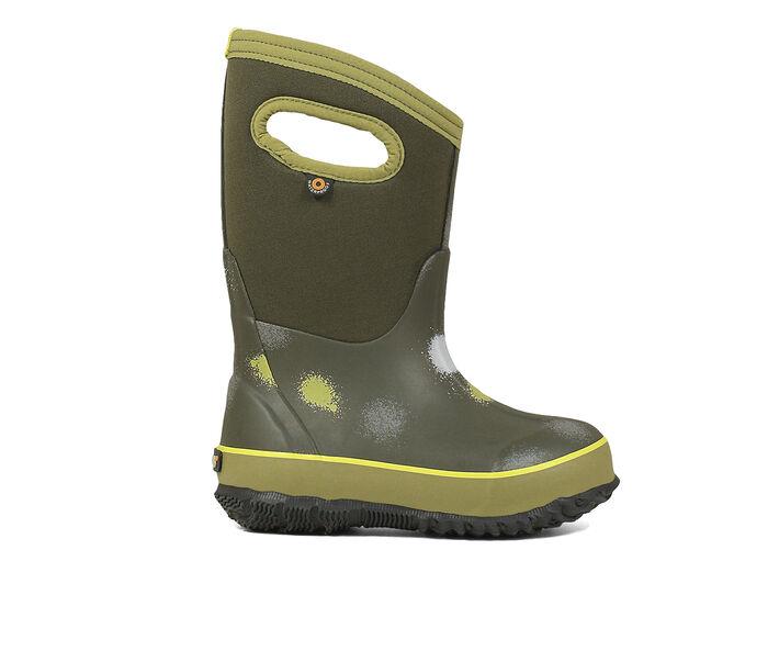Boys' Bogs Footwear Toddler & Little Kid & Big Kid Classic Funprint Winter Boots