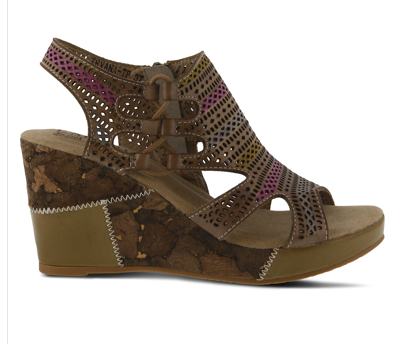 For Sale Women's L'ARTISTE Irvana Wedges Taupe