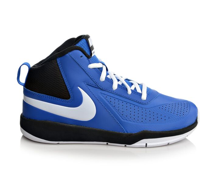 Boys' Nike Team Hustle D7 3.5-7 Basketball Shoes