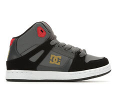 Boys' DC Pure High-Top Skate Shoes