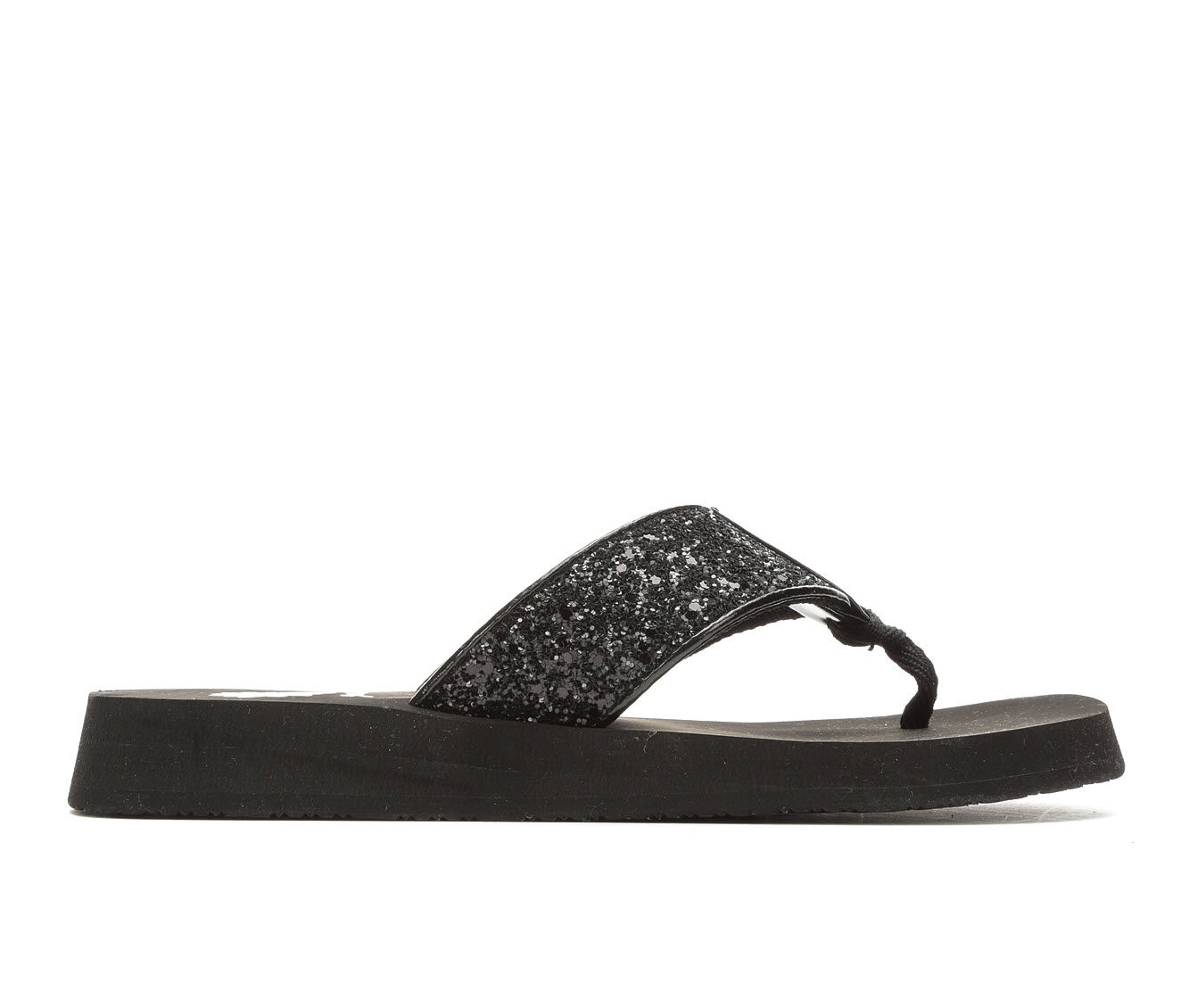 Women's Yellow Box Carolina Flip-Flops Black