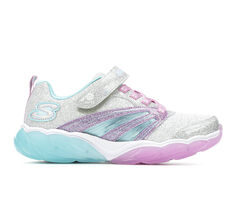 Girls' Skechers Little Kid & Big Kid Fusion Flash Light-Up Shoes