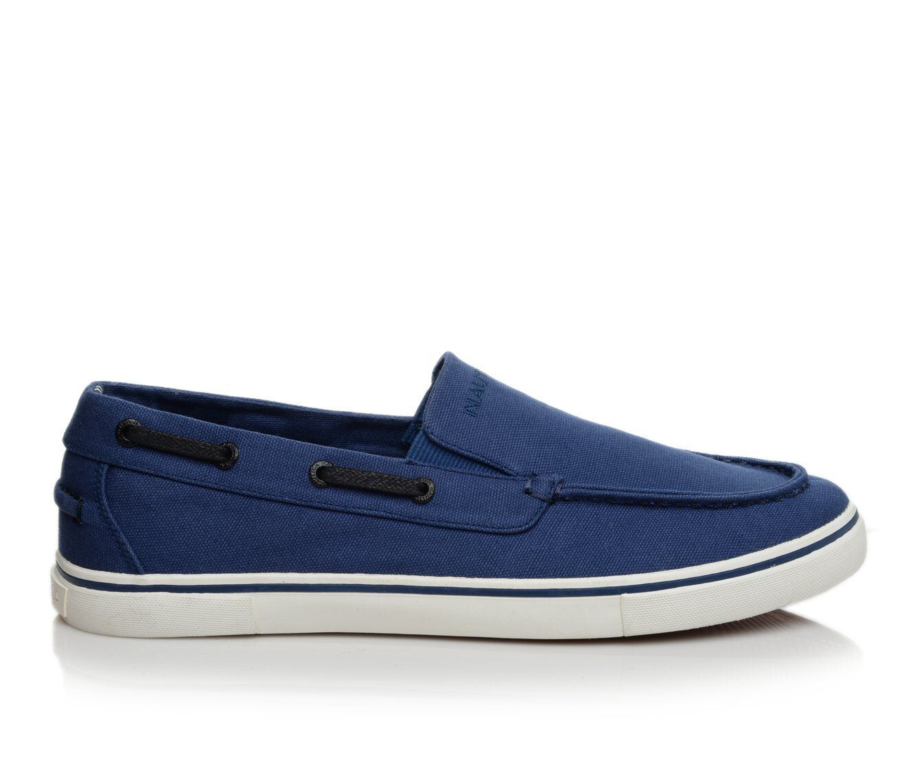 Men's Nautica Doubloon Slip On Casual Shoes Estate Blue 1