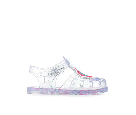 Girls' Y-Not INF Flower Jelly 2 Clear Sandals