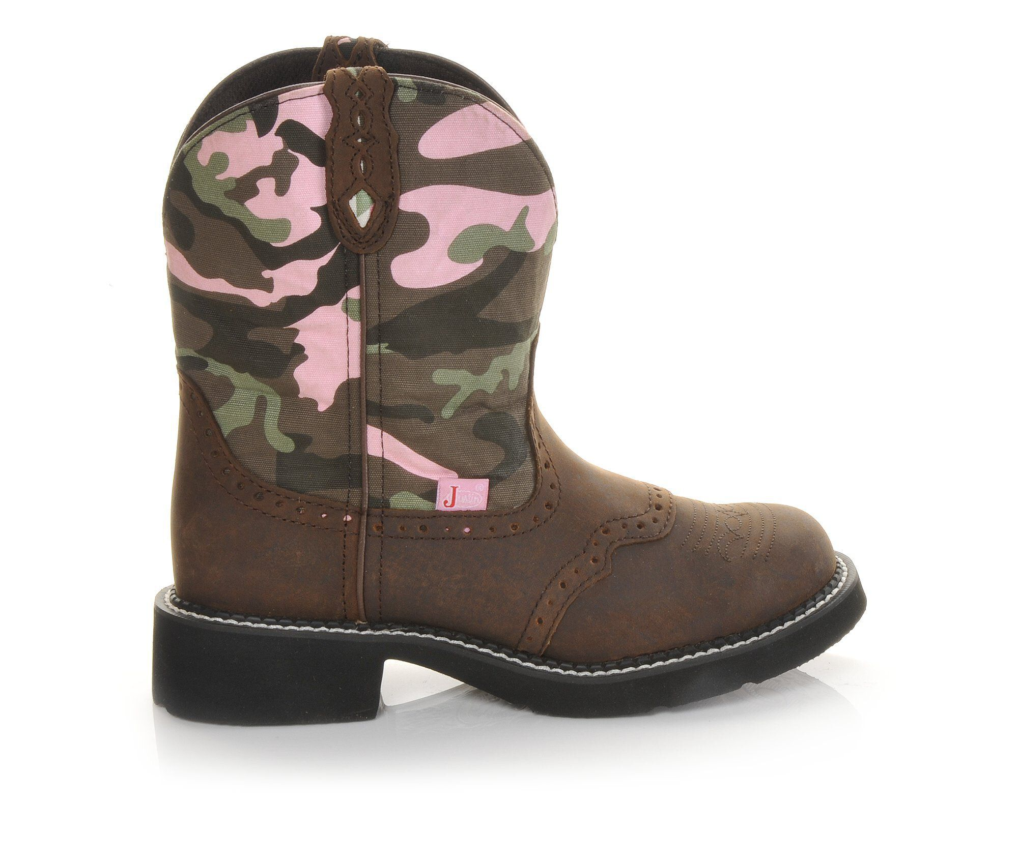 "fast delivery Women's Justin Boots Gypsy 8"" Western Boots Camo"
