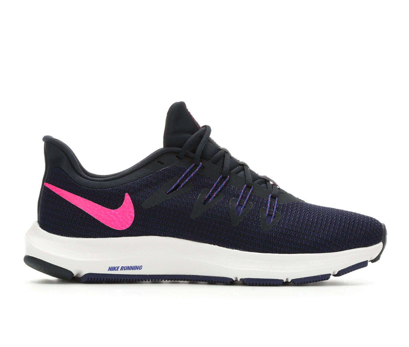 Women's Nike Quest Running Shoes Navy/Pink/Blue